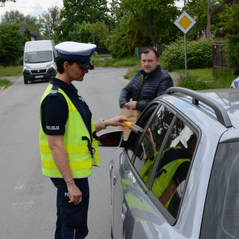 Kierowcy w Radomsku zdawali egzamin z trzeźwości