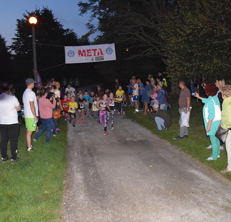 II Radomszczański Bieg Nocny w parku Solidarności