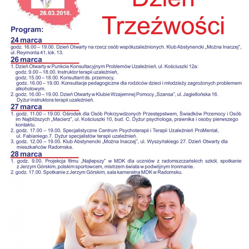 Ogólnopolski Dzień Trzeźwości  w Radomsku