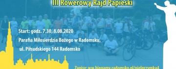 Ruszyły zapisy na IV Radomszczańską Pielgrzymka Biegowa i III Rowerowy Rajd Papieski